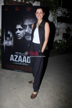 Screening Of Short Film Azad At Sunny Super Sound