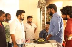 Saithan Movie Working Stills