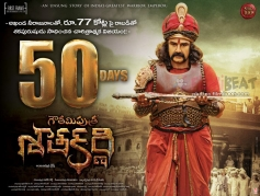 Gautamiputra Satakarni Movie 50th Day Poster