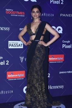 Deepika Padukone Looks Stunning At GQ Fashion Nights