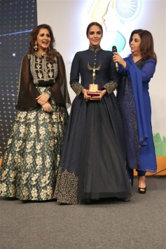 Celebs At Naaz Celebrations Of Women Achievers In New Delhi