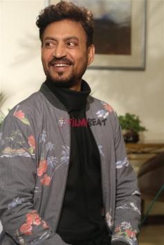 Irrfan Khan And Parvathy Press Meet For Qarib Qarib Single In New Delhi
