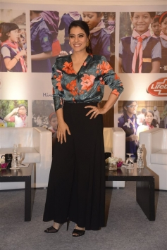 Kajol At Lifebuoy's Help A Child Reach 5 Campaign