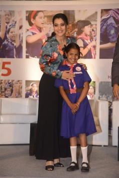 Kajol At Lifebuoy's Help A Child Reach 5 Campaign