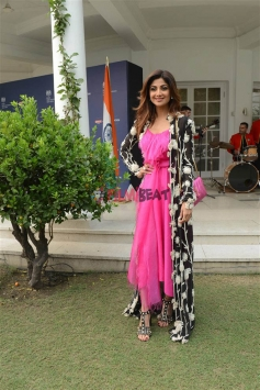 Shilpa Shetty With Prince Charles In New Delhi