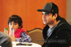 Tamil celebrities with their kids