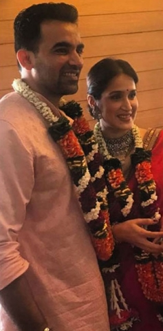 Zaheer Khan Ties The Knot With Sagarika Ghatge
