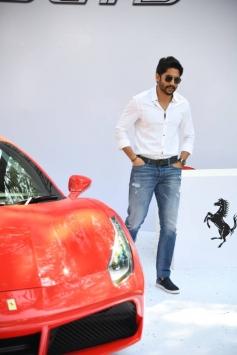 Naga Chaitanya at Hyderabad Supercar Show 2017