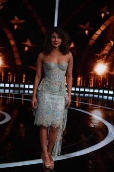 Priyanka Chopra On The Sets Of India's Super Star