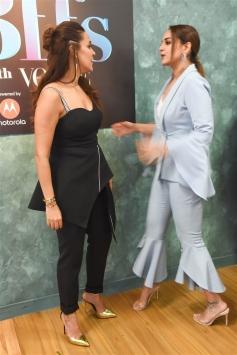 Sonakshi Sinha, Neha Dhupia & Manish Malhotra At Colours Infinity Bff's With Vogue