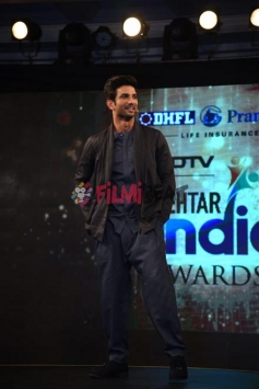 Sushant Singh Rajput For Ndtv Behtar India Awards In Delhi