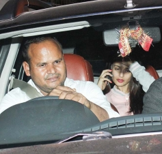 Ameesha Patel spotted at Kromakay Juhu