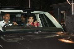 Anuskha Sharma on the set of Zero