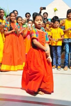 Lakshmi Manchu Celebrates Sankranthi With Kids From Govt Schools