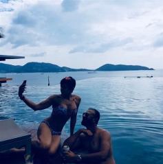 Mandira Bedi Enjoying Vacation in Phuket