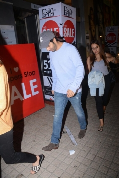 Varun Dhavan With Girlfriend Spotted At Juhu PVR