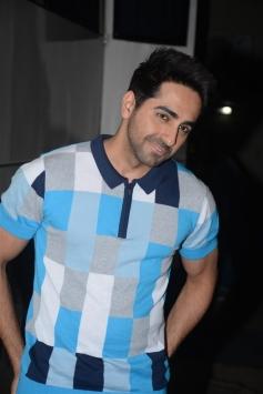 Aayushman Khaurrana Spotted At Magazine Shoot Mehboob Studio Bandra