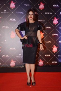 Neetu Chandra at Nykaa Femina Beauty Awards 2018