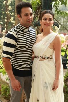Pulkit Samrat And Kriti Kharbanda During Photoshoot For Upcoming Film Veere Di Wedding