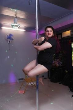 Smilie Suri Pole Dance Photoshoot