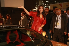 Sonakshi Sinha At Launch Of DC Cars At Auto Expo 2018