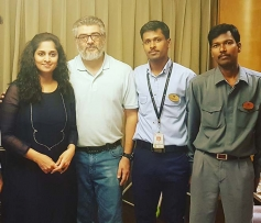 Actor Ajith Kumar Spotted with Fan