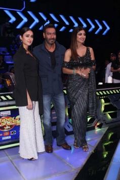 Ajay Devgn and Ileana D'Cruz promote Raid on Super Dancer 2