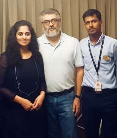 Ajith Kumar Spotted with Fan