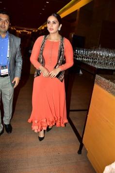 Huma Qureshi at FICCI FRAMES 2018 Inauguration