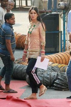 Katrina Kaif on the set of Zero