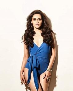 Miss World Manushi Chillar Raises The Heat In Bikini