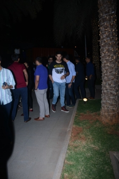 Siddharth Malhotra And Karan Johar Spotted At Nara Thai BKC Bandra