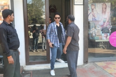 Tusshar Kapoor And Ahan Shetty Spotted At Bastian Bandra