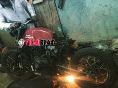 Yash Bike In KGF Movie