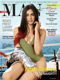 Adah Sharma Photoshoot For Man Magazine