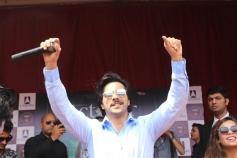 Varun Dhawan Promotes October At  Delhi College