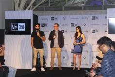 Virat Kohli Launch His Signature Head wear Collection