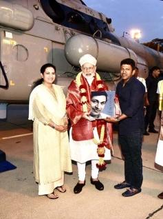 Puneeth Rajkumar Meets PM Narendra Modi