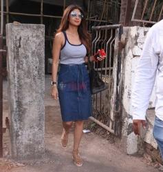 Shilpa Shetty Spotted at kromakay juhu