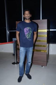 Abhimanyudu Movie Special Show for Celebs