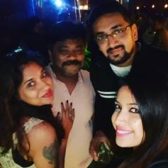 Actor Srujan Lokesh Birthday Party