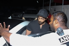 Hrithik Roshan With Family Spotted At Juhu PVR Photos