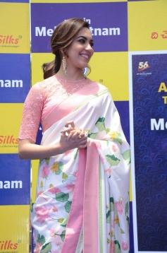 Ritu Varma Launches The Chennai Silks At Mehdipatnam