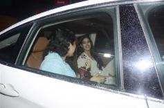 Celebrities At Special Screening Of Dhadak Photos