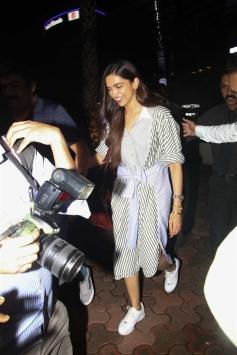 Deepika Padukone Spotted At BKC Bandra