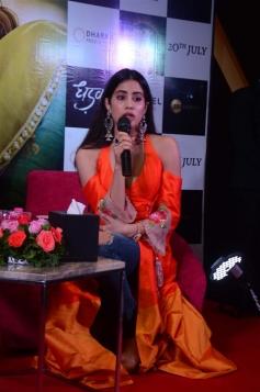 Jahnvi Kapoor and Ishan Khattarat Promote Dhadak In Ahmedabad Photos