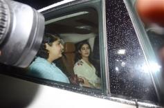 Janhvi Kapoor at Special Screening Of Dhadak