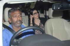 Karisma Kapoor at Special Screening Of Dhadak