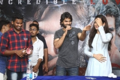 RX 100 Movie Team Visited St'Mary's At Guntur To Promote The Film