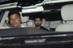Shahid Kapoor at Special Screening Of Dhadak Photos